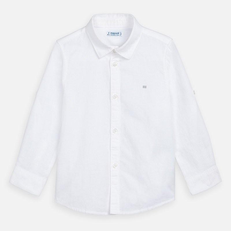 Риза от лен за момче Mayoral