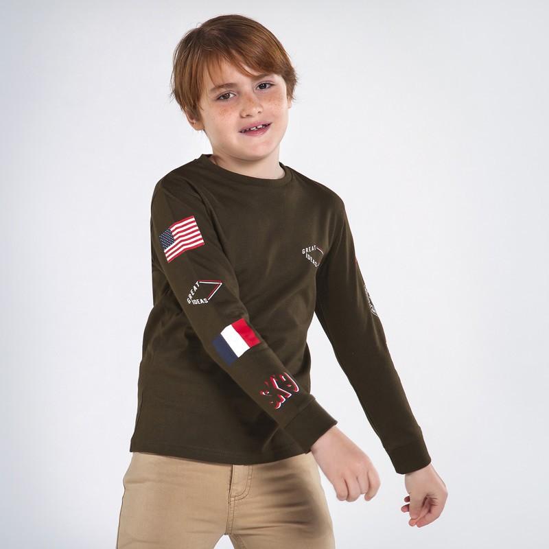 Блуза за момче с щампи Mayoral