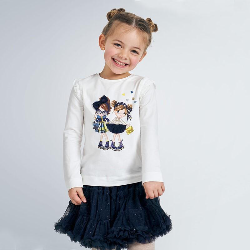 Блуза с апликация за момиче...