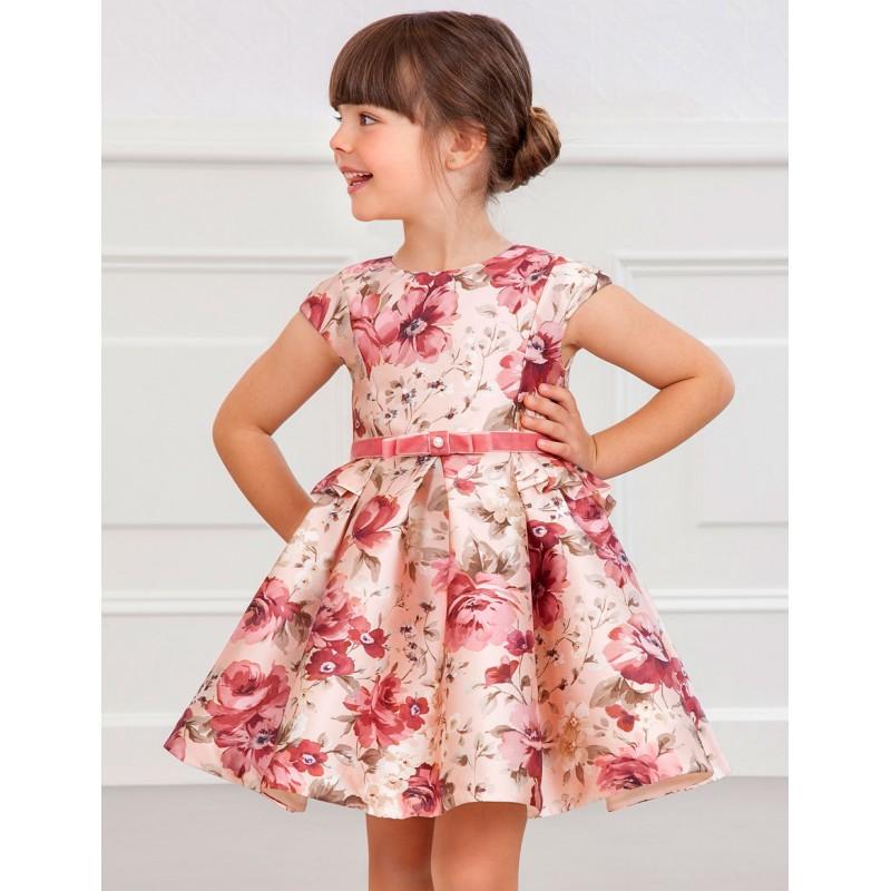 Официална рокля на цветя...