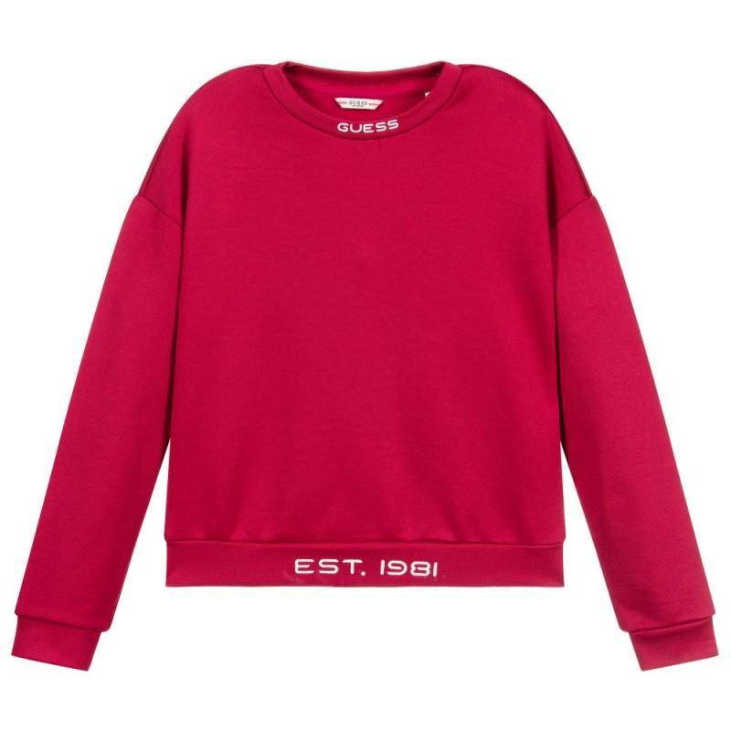 Блуза със светещо лого Guess за момиче