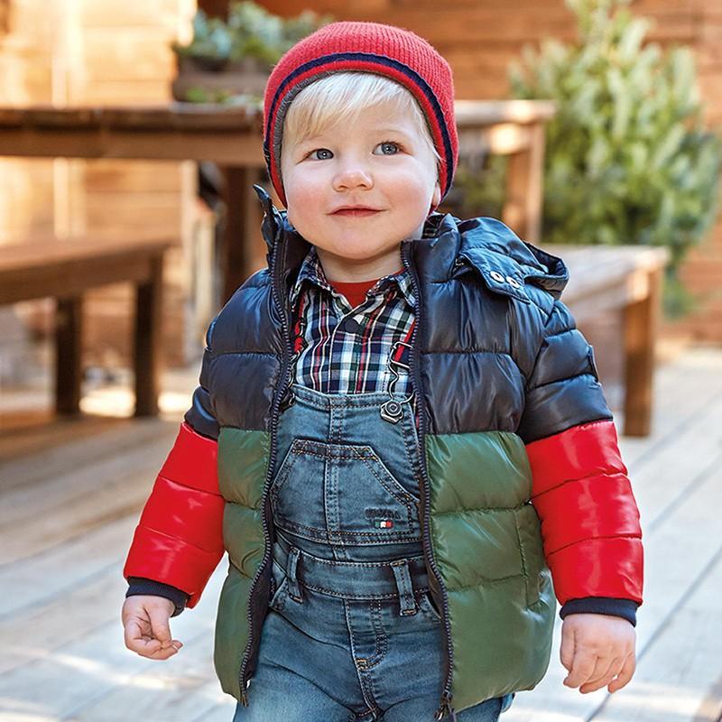Зимно яке за бебе момче Mayoral
