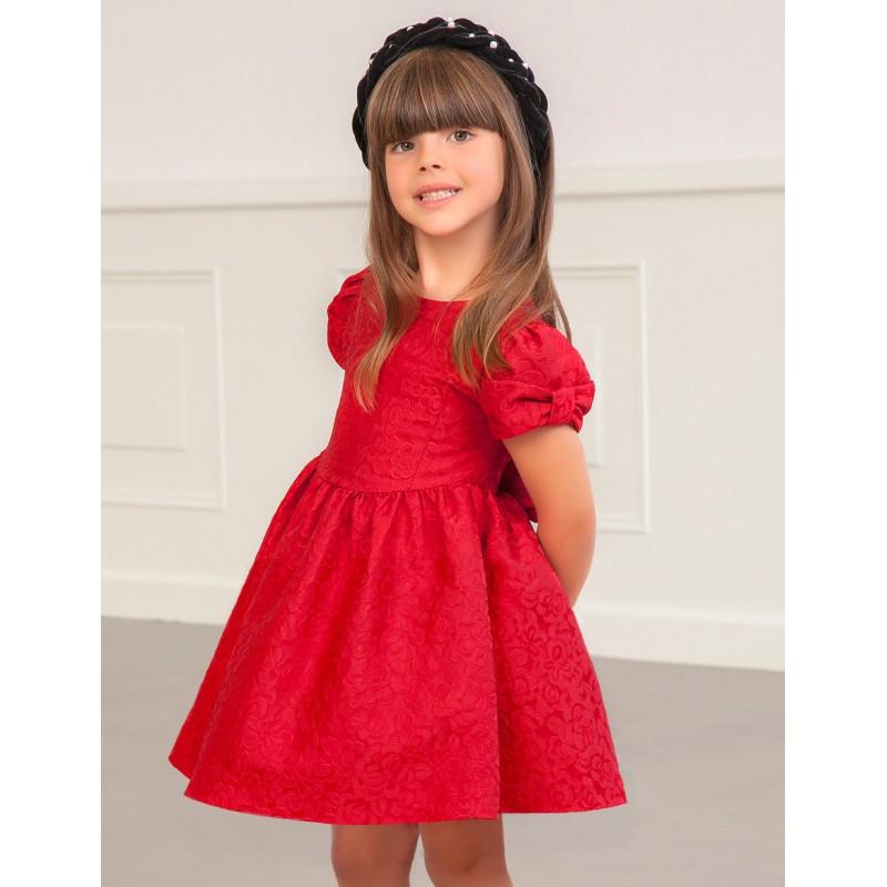 Жакардова рокля на цветя...