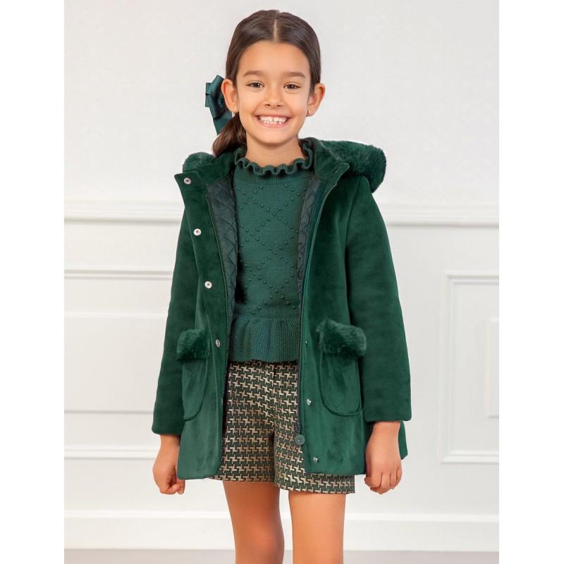 Кадифено палто за момиче...