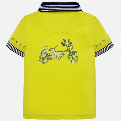 Тениска с яка за момче Mayoral