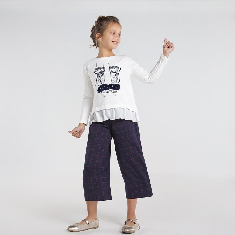 Свободен панталон за момиче...