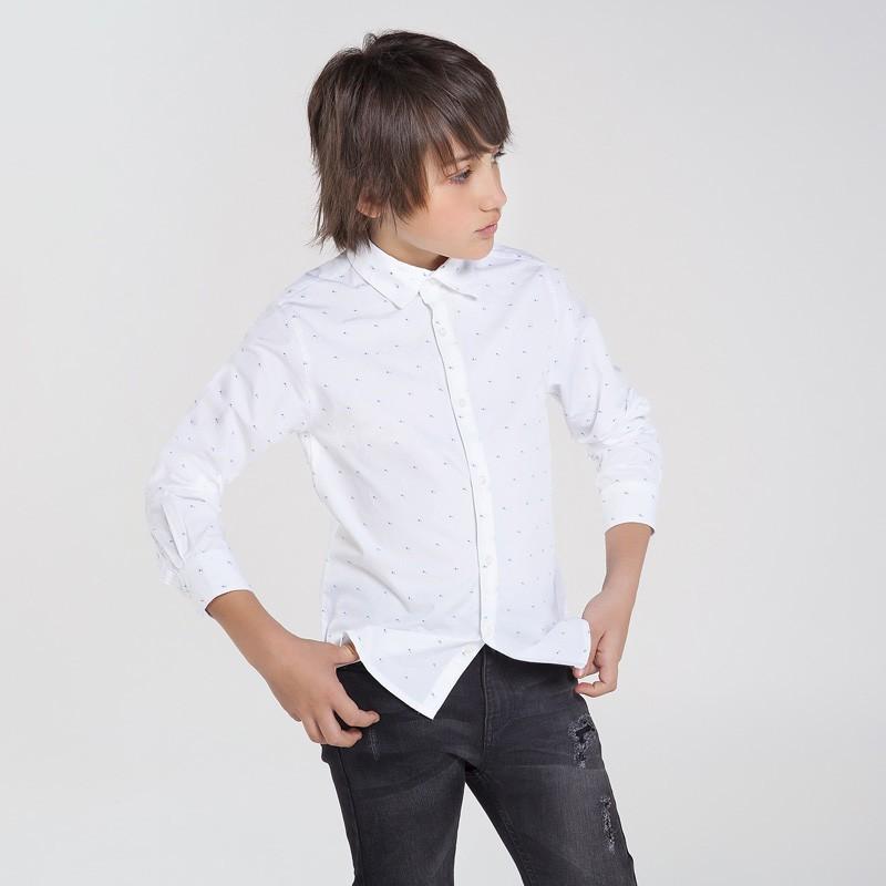 Риза от жакард за момче...