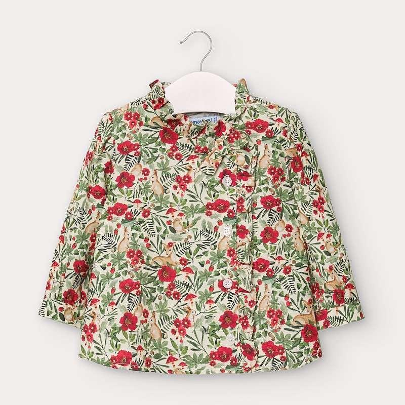 Елегантна блуза за бебе момиче Mayoral